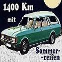 1400 Km mit Sommerreifen