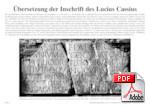 Übersetzungen alter Lateinischer Inschriften 37172955cs